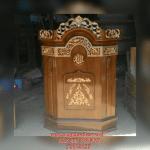 Mimbar Masjid minimalis Kubah Jati ukir