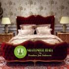Jual Tempat Tidur / Dipan Minimalis Jati Ukir