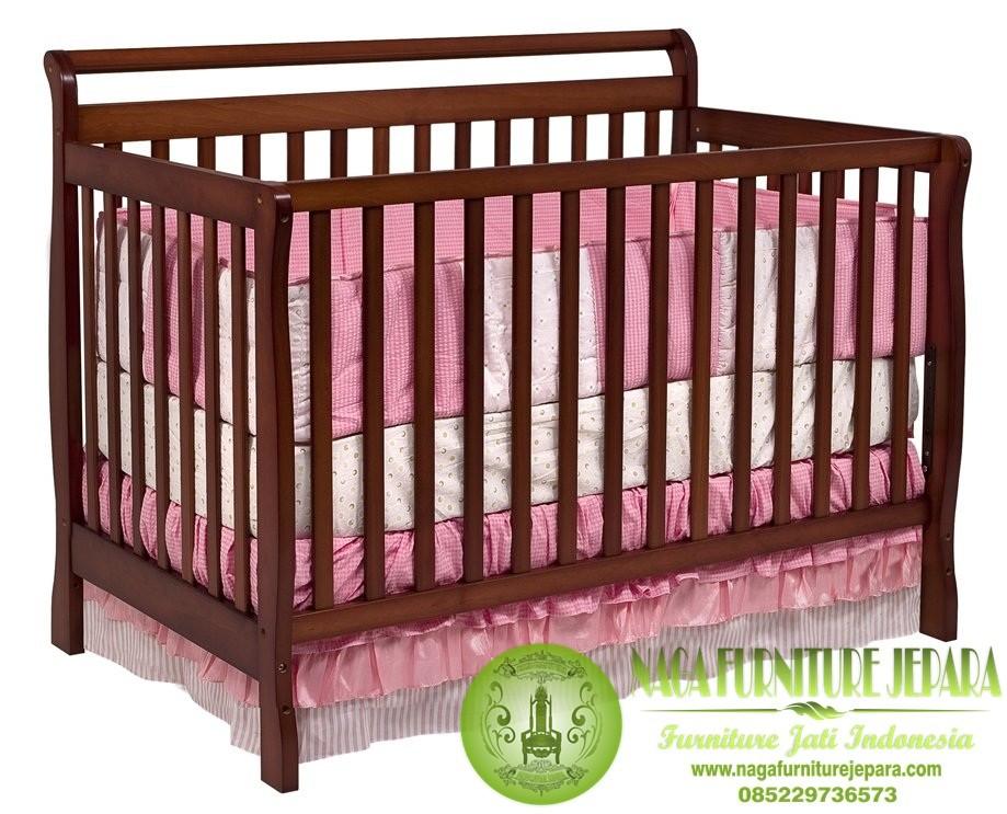 Jual Tempat Tidur Anak Karakter Minimalis Dipan Jati Ukir