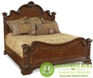 Dipan Jati Minimalis BED CLASSIC ESTATE