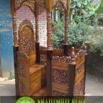 Mimbar-Masjid-kanopi-ukir-bunga-kayu-jati