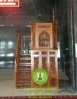 Jual Mimbar Masjid Jati Minimalis Ukiran Kaligrafi Jepara