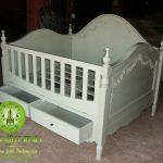 Jual Box Bayi / Tempat Tidur Kayu Jati Harga Paling Murah