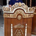 Harga Mimbar Masjid Sederhana Model Ukiran Kaligrafi