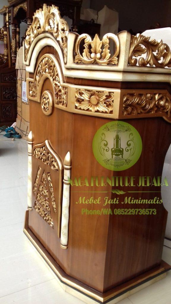 harga mimbar masjid minimalis termurah