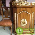Gambar Set Kursi Mimbar Masjid Minimalis