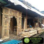 Produksi Pintu Gebyok Jati Ukir Rumah Joglo Jawa