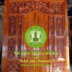 Harga Pintu Gebyok Ukir Bali Kayu Jati Asli Jepara