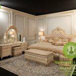 jual kamar tidur set elegant klasik eropa