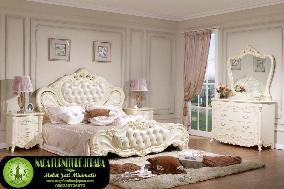 set furniture kamar tidur minimalis putih istana